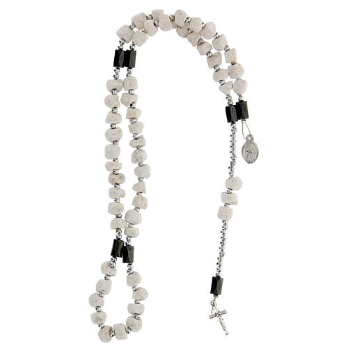 Medjugorje rosary with magnets and stones 4