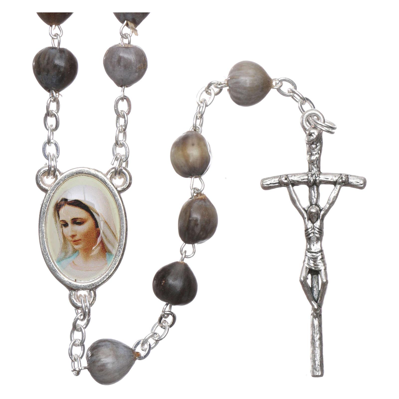 Medjugorje Rosary Job's Tears, chain 4