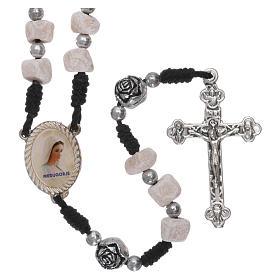 Rosary in Medjugorje stone s1