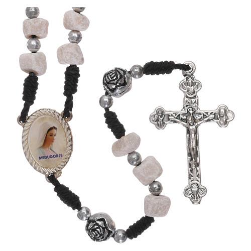 Rosary in Medjugorje stone 1