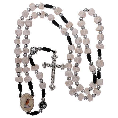 Rosary in Medjugorje stone 4