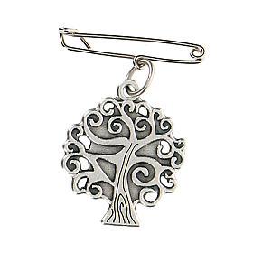 Broche Virgen Medjugorje árbol vida s2