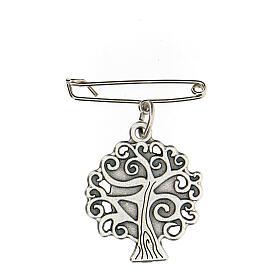 Broche Virgen Medjugorje árbol vida s4