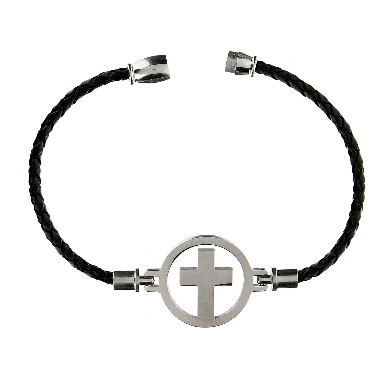 Bracelet Medjugorje argent noir 4