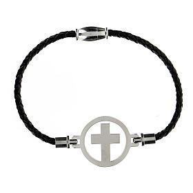 Bracelet Medjugorje argent noir s1