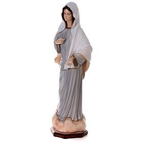 Madonna Medjugorje dipinta polvere marmo 150 cm ESTERNO s4
