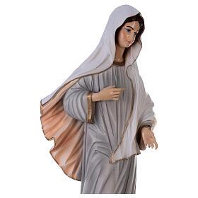 Madonna Medjugorje dipinta polvere marmo 150 cm ESTERNO s8