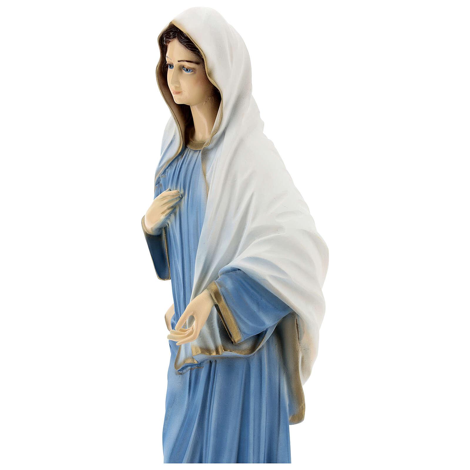 Madonna di Medjugorje chiesa polvere di marmo 60 cm ESTERNO 4