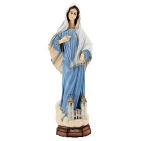 Madonna di Medjugorje chiesa polvere di marmo 60 cm ESTERNO s1