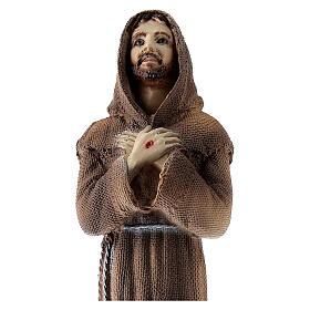 Statua San Francesco polvere di marmo 25 cm