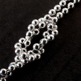 Collar plata con corazón y cruz s3