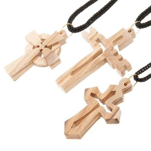 Croce legno olivo 2