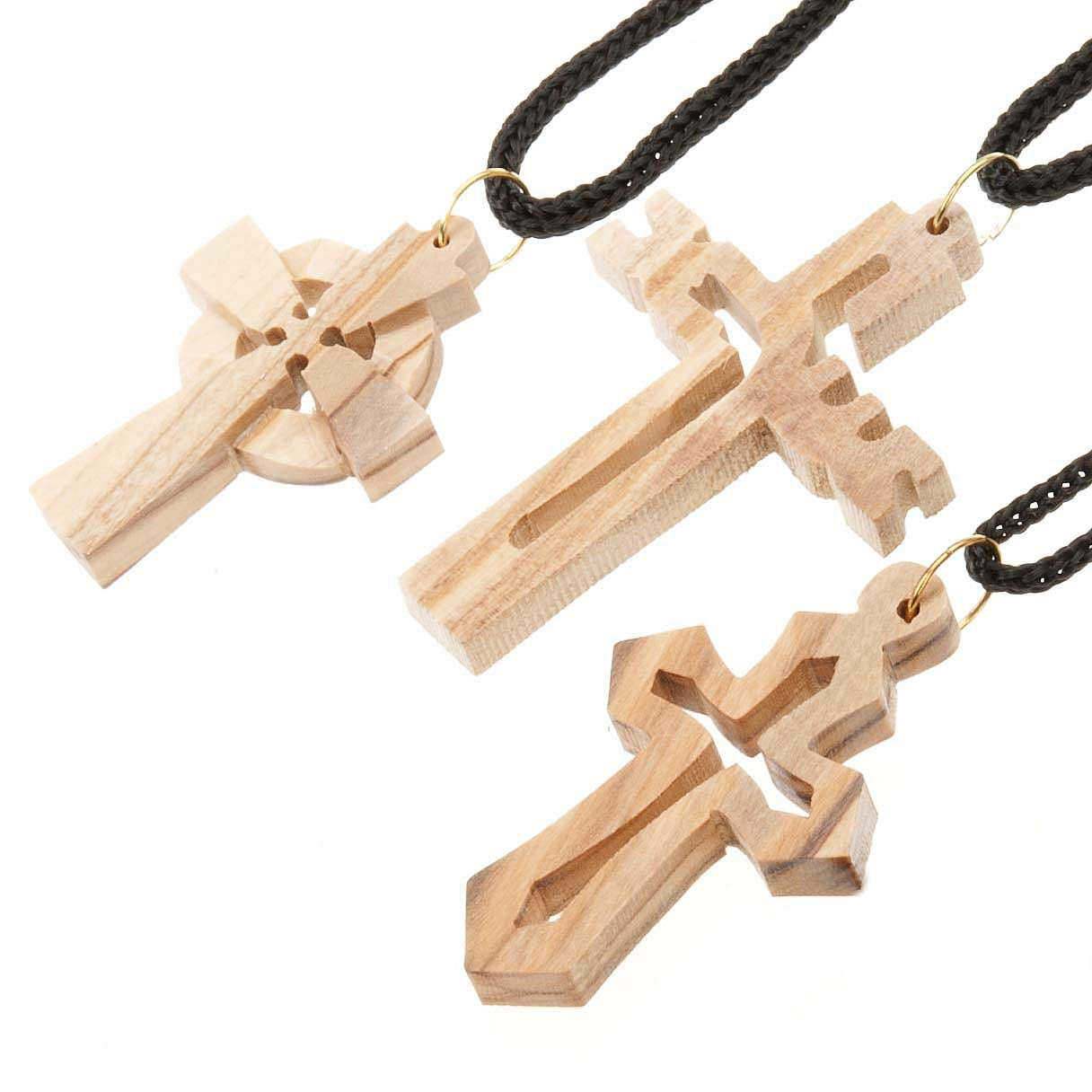 Olive wood cross 4