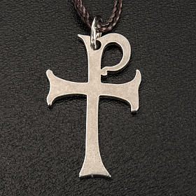 Pendente croce di Aquileia acciaio 3 cm s3