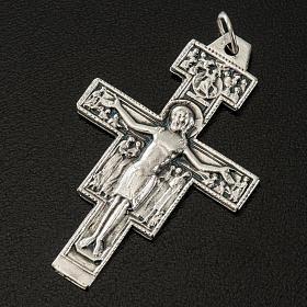 Pendente croce di Aquileia acciaio 3 cm s2