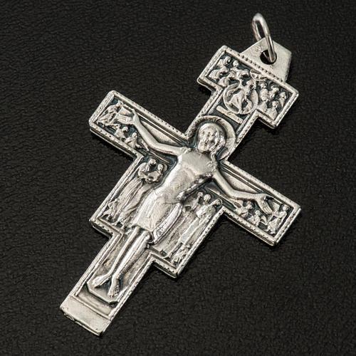 Aquileia cross pendant, steel 3cm 2