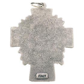 Pingente cruz Cristo Misericordioso s2
