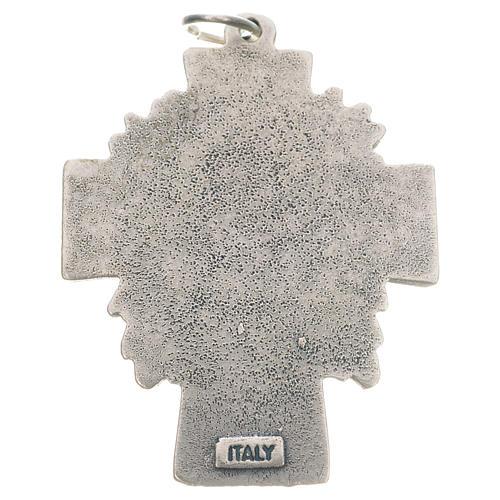 Pingente cruz Cristo Misericordioso 2