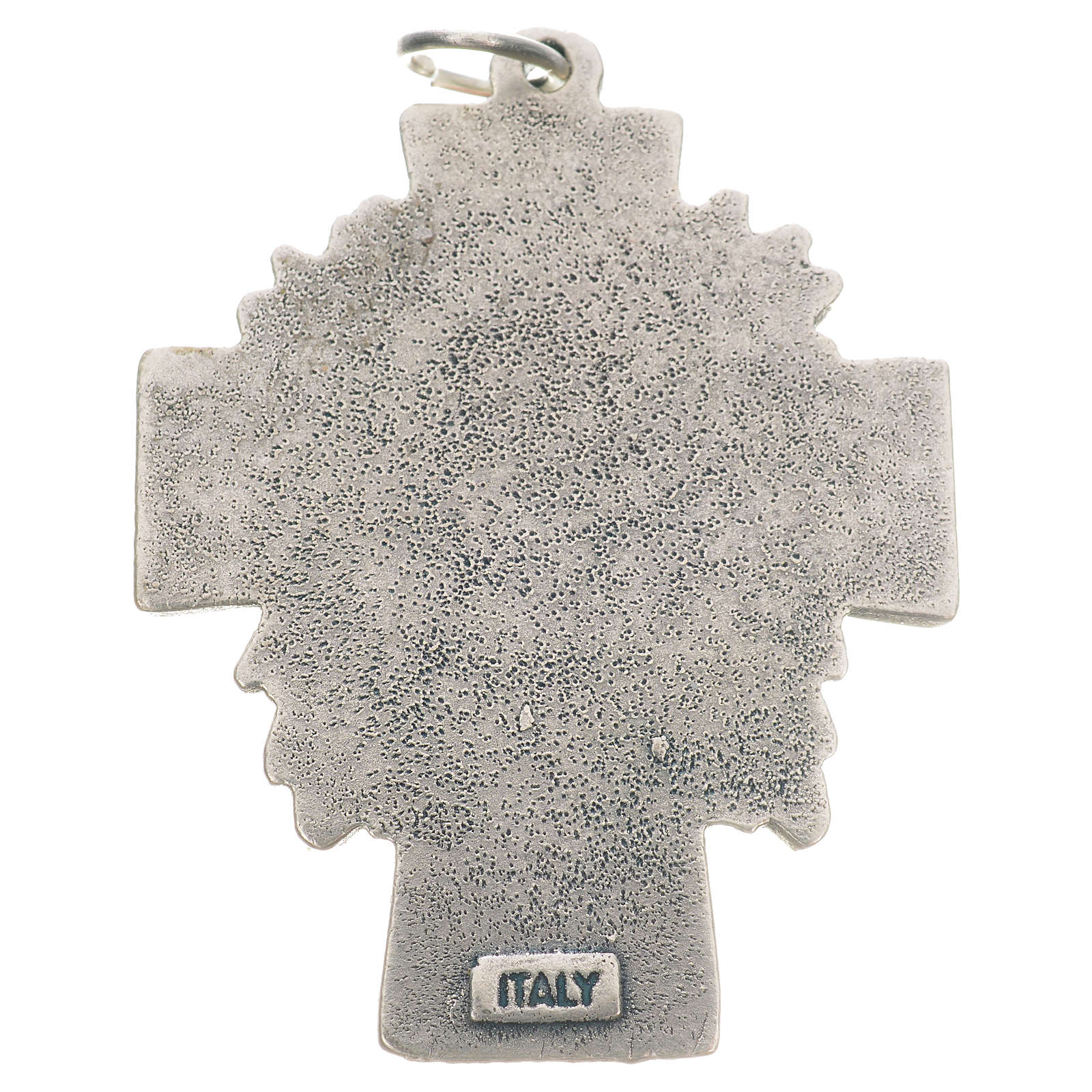 Pendant cross Divine Mercy of Jesus 4