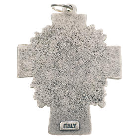 Pendant cross Divine Mercy of Jesus s2