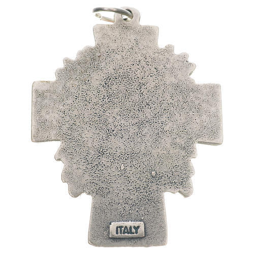 Pendant cross Divine Mercy of Jesus 2