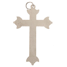 Cross in metal with strass 7 cm s3