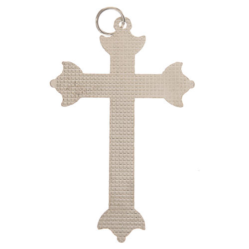 Cross in metal with strass 7 cm 3