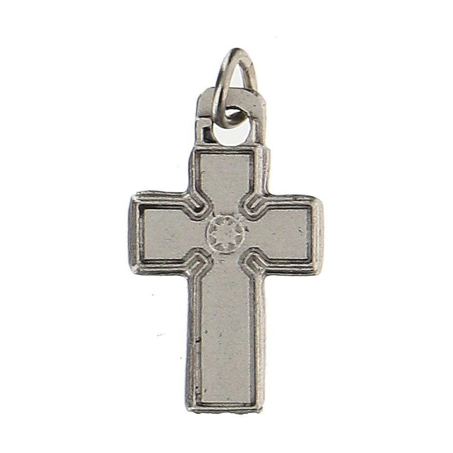 Medalla en forma de cruz zamak 1,5 cm 4