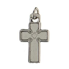 Medalla en forma de cruz zamak 1,5 cm s1