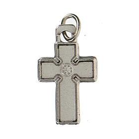 Medalla en forma de cruz zamak 1,5 cm s2