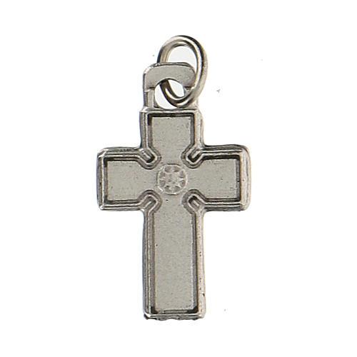 Medalla en forma de cruz zamak 1,5 cm 2