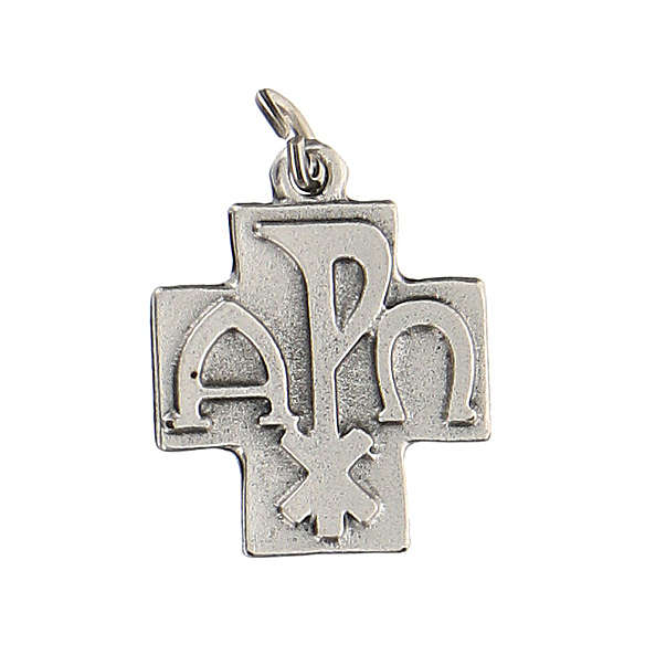 Ciondolo a forma di croce Pax 2 cm zama 4
