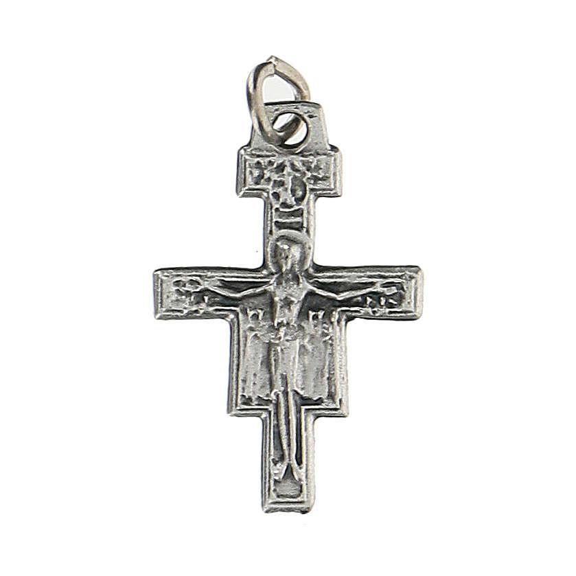 Mini cruz de San Damián 1,5 cm 4