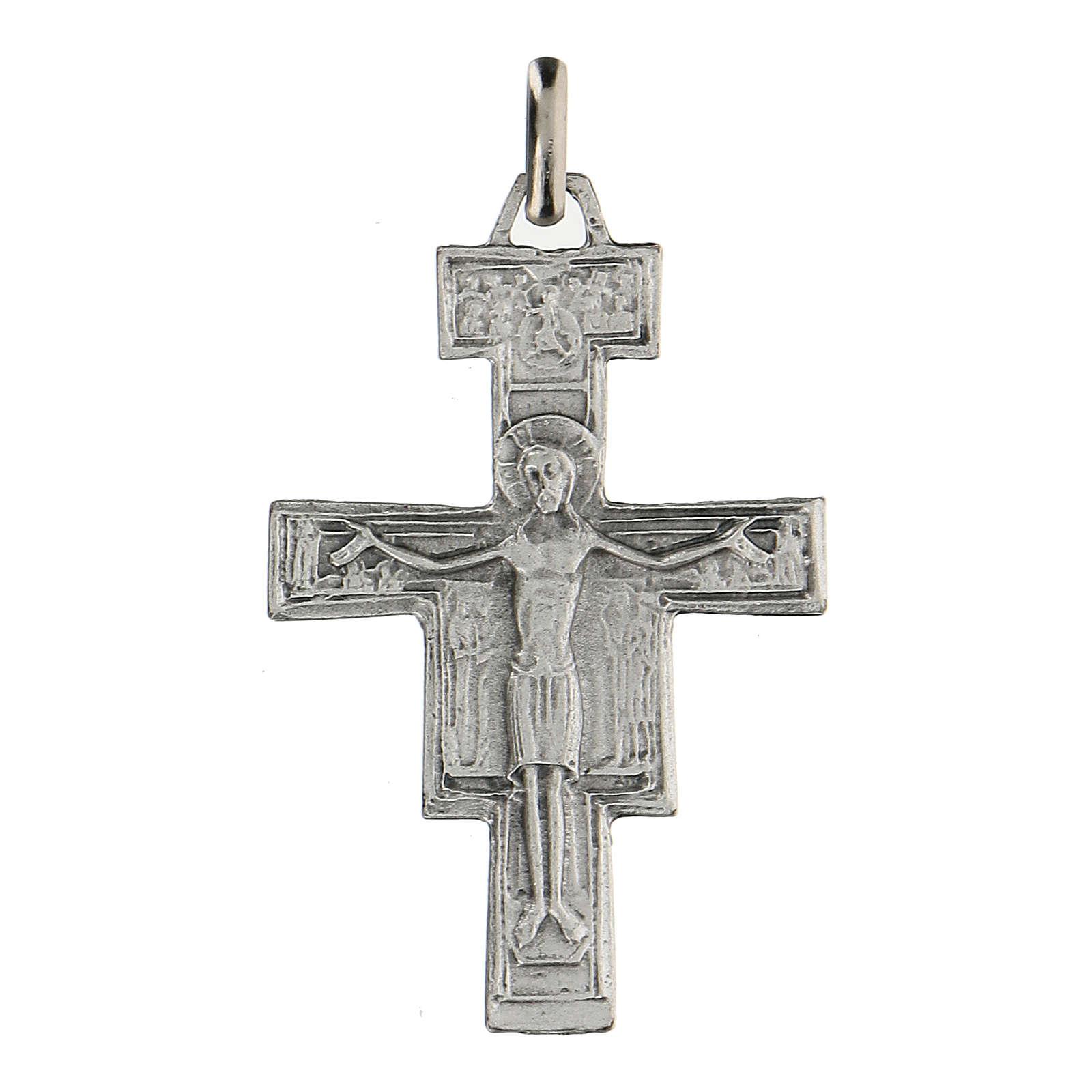Croce San Damiano 4 cm in zama 4