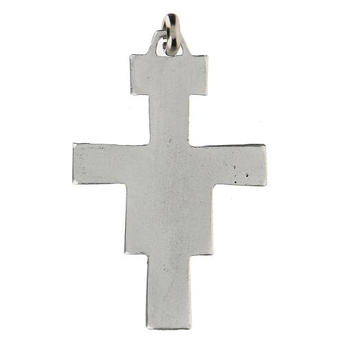 Croce San Damiano 4 cm in zama 2