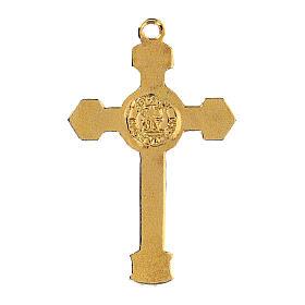 Enameled crucifix pendant s3