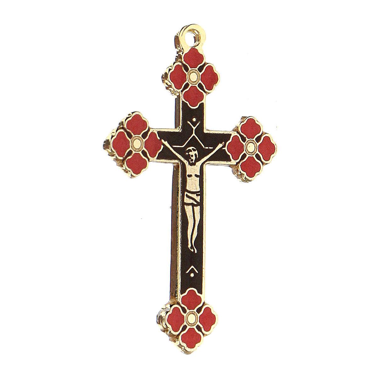Crucifix pendant coral decorations 4