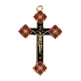 Crucifix pendant coral decorations s1