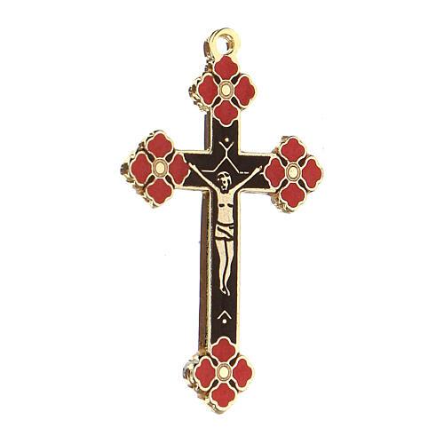 Crucifix pendant coral decorations 2