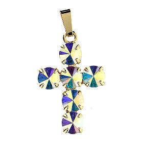 Croix cristaux ronds aurore boréale s1