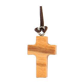 Croce legno olivo di San Benedetto mini