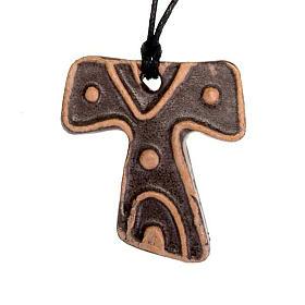 Mini Tau cross pendant s2