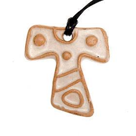 Mini Tau cross pendant s3