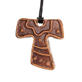 Mini Tau cross pendant s5