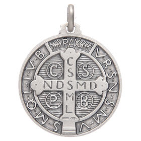 Saint Benedict medal silver 925 s2