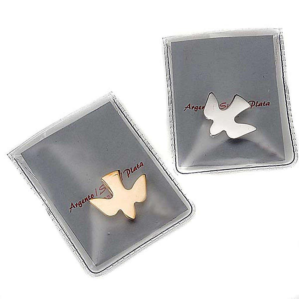 Silver dove brooch 925/00 4