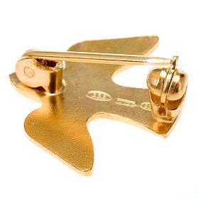 Silver dove brooch 925/00 s2