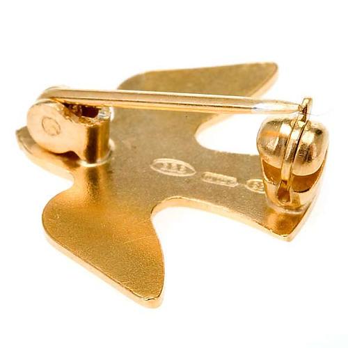 Silver dove brooch 925/00 2