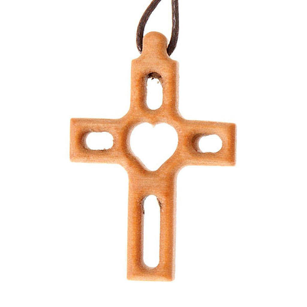 Kreuz mit Loch Herz 4
