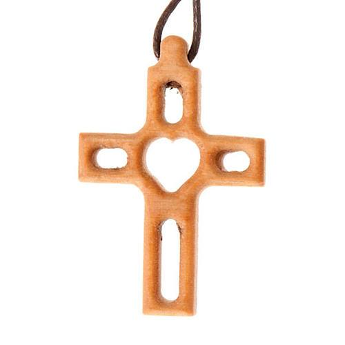 Kreuz mit Loch Herz 1